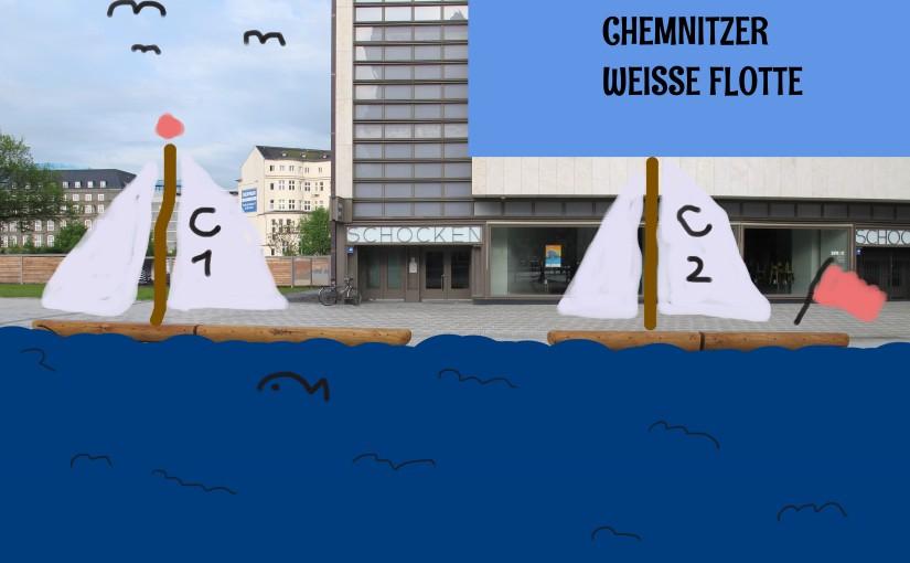 """Die """"Weisse Flotte"""" zu Chemnitz"""